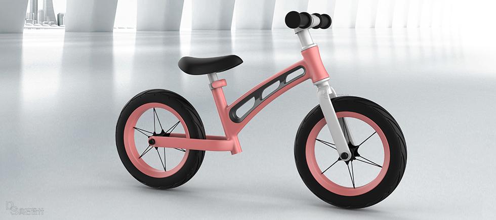儿童平衡车设计
