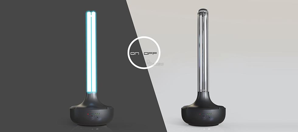 紫外线灯设计,产品设计