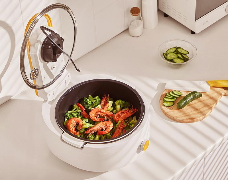 家电设计-一款自动搅拌锅
